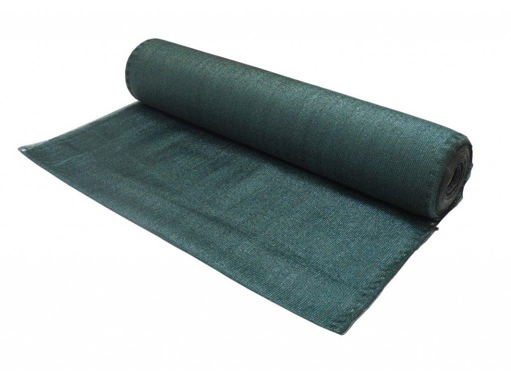 Stínící tkanina (síť na plot,zahradu,80g/m2 oliv) 1,5 x 50m zelená