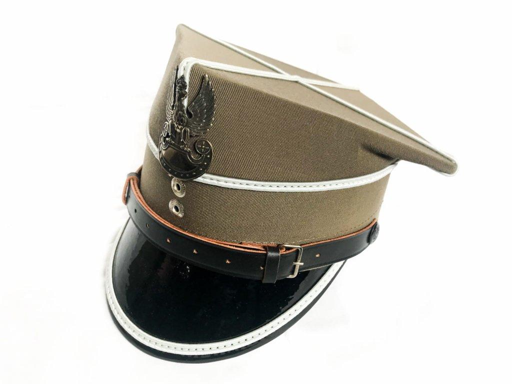Čepice (brigadýrka) rogatywka oficírská (mladší důstojník) nová originál