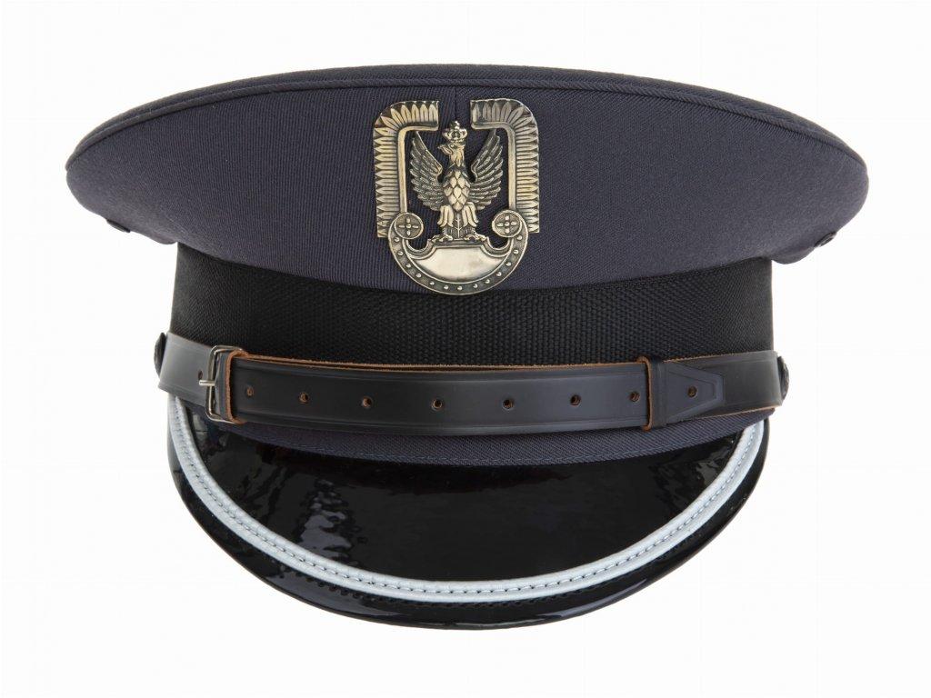Čepice brigadýrka oficírská (mladší důstojník letectva) nová Polsko originál