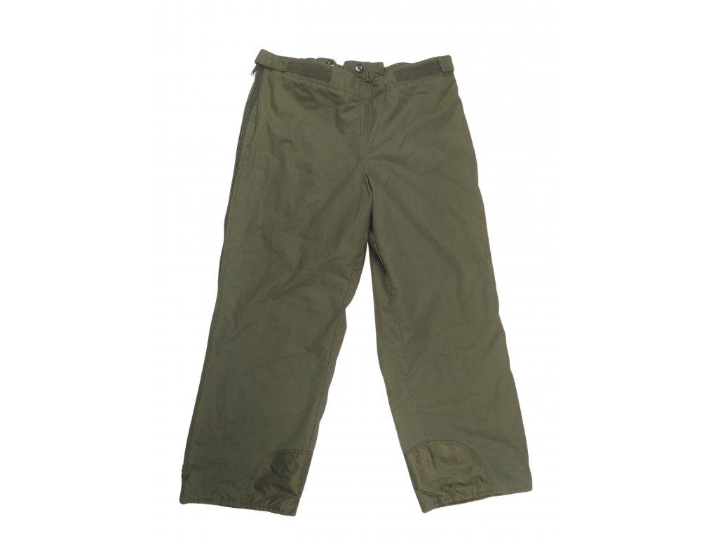 Kalhoty Bundeswehr zateplené Gore-Tex oliv originál