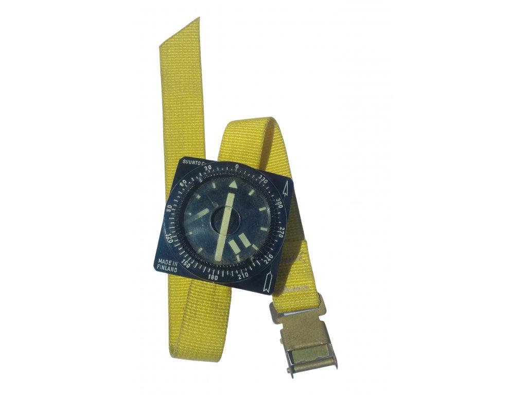 Potápěčský náramkový kompas Suntoo BARAKUDA na ruku Finsko vintage