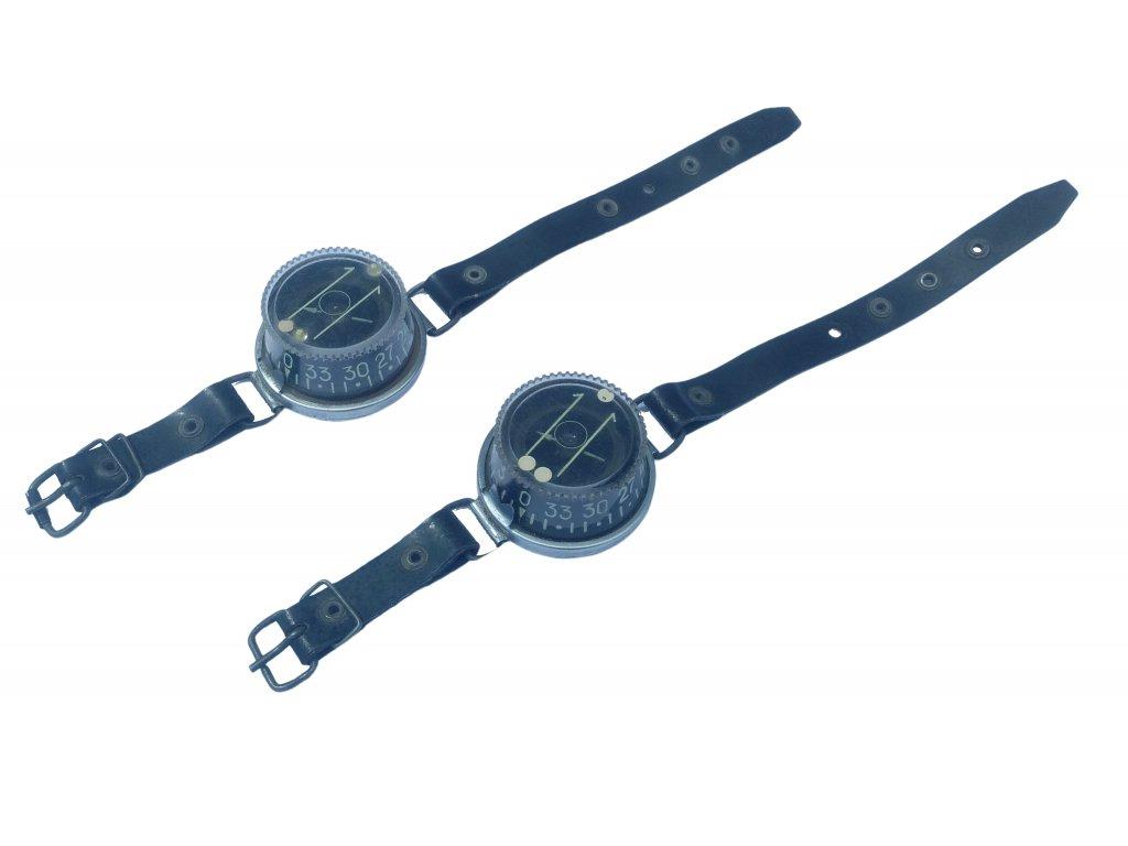 Náramkový magnetický kompas KNM na ruku SSSR (Rusko,Polsko) vintage originál