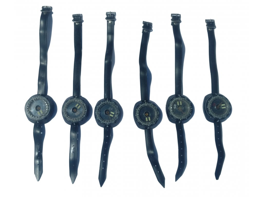 Potápěčský náramkový kompas na ruku PASTO model Abalone vintage