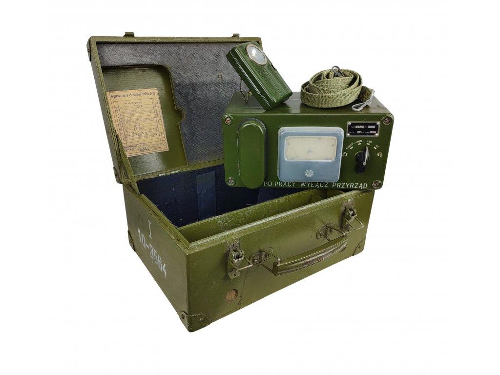 Rentgenometr D-08 v kufru Polsko originál