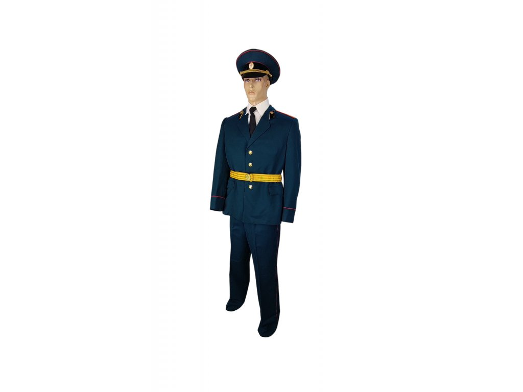 Vycházková uniforma plukovník chemických ozbrojených sil Rusko (SSSR,Sovětský svaz) zelená originál