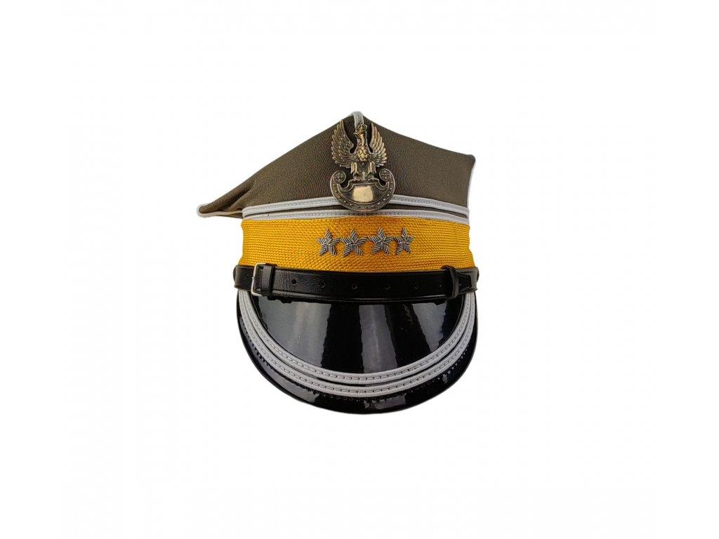 Čepice rogatywka mladší důstojník v 1. Varšavské obrněné brigády originál