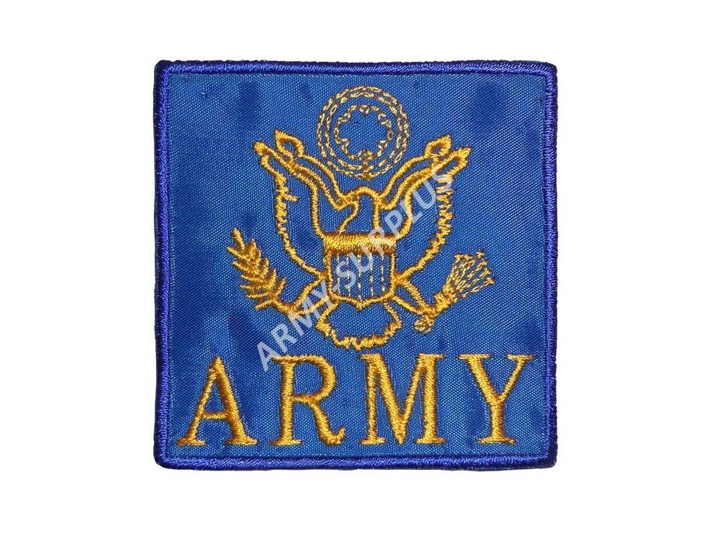 Nášivka ARMY logo - modrá