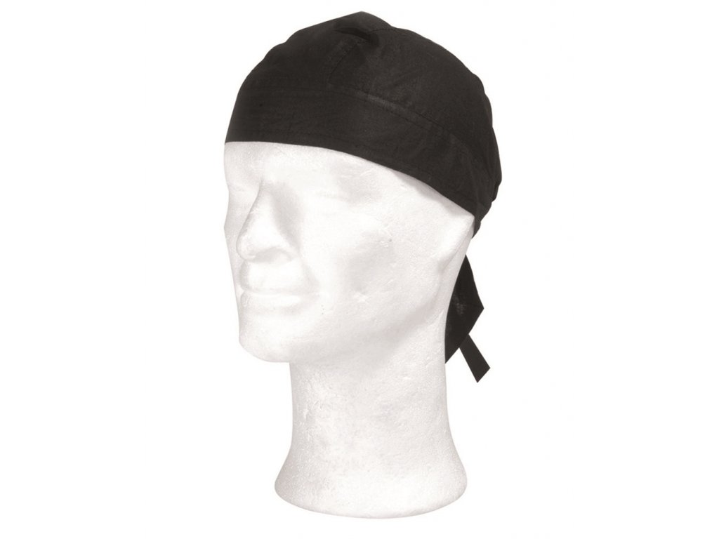 Šátek pirát černý
