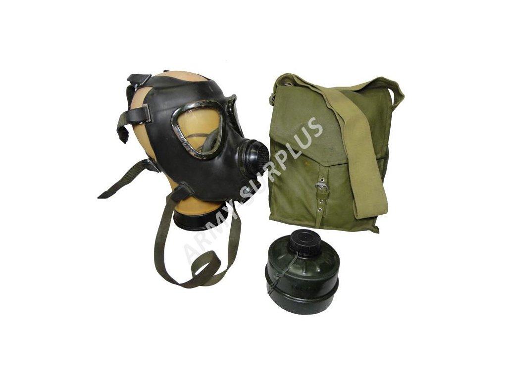 Plynová maska M-74 Saúdská Arábie černá