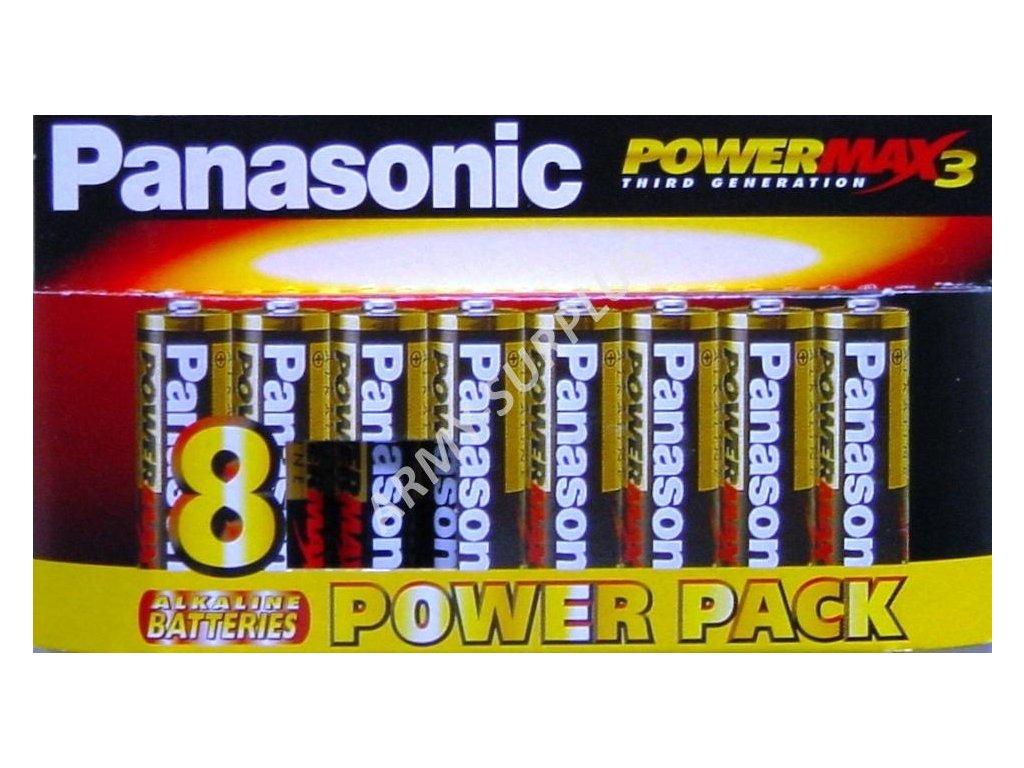 Baterie Panasonic Power MAX3 AA 1,5V R6 tužkové alkalické