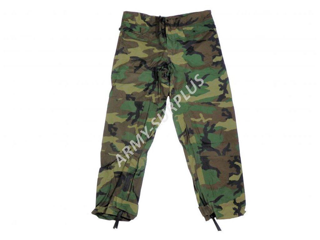 Kalhoty US woodland  nepromokavé převlekové originál