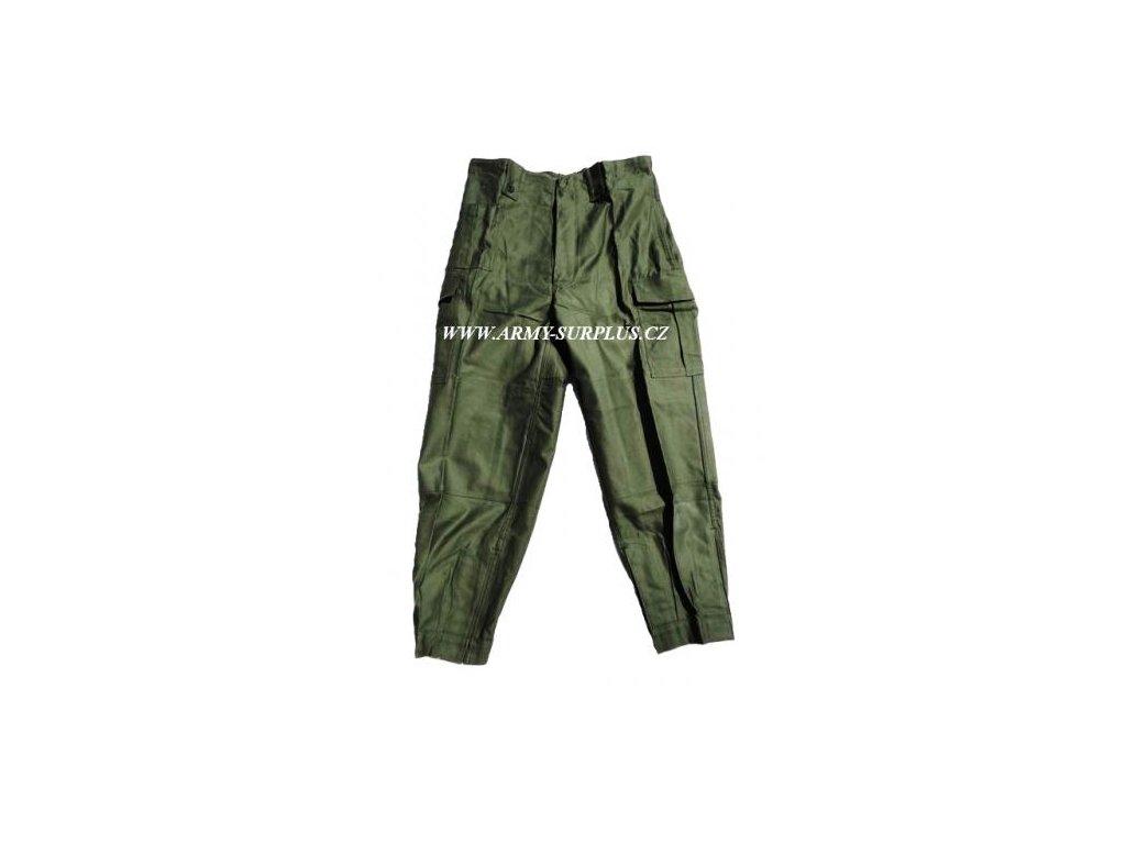 Kalhoty M64 oliv Belgie originál