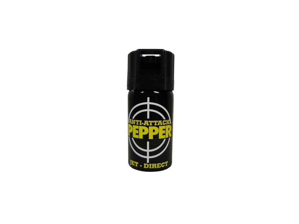 Obranný sprej pepřový Anti-Attack OC JET 40ml