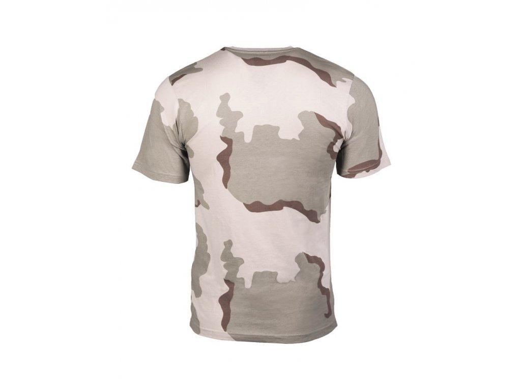 Tričko (triko) desert 3-color Miltec