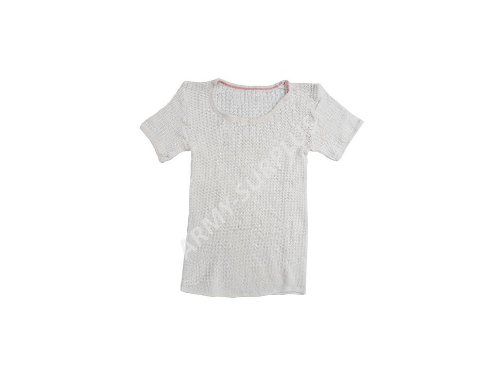 Triko síťované Dánsko bílé