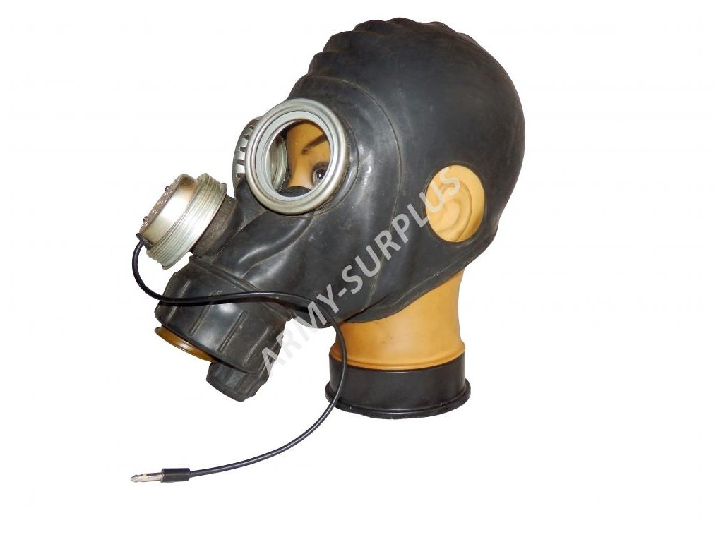 Plynová maska  LP-2 Rusko černá