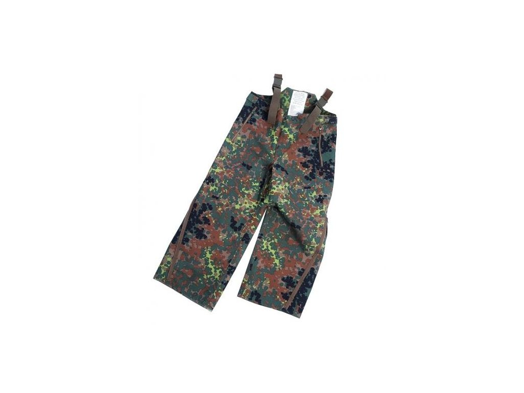 Kalhoty BW (Bundeswehr) flecktarn ECWCS trilaminát nové