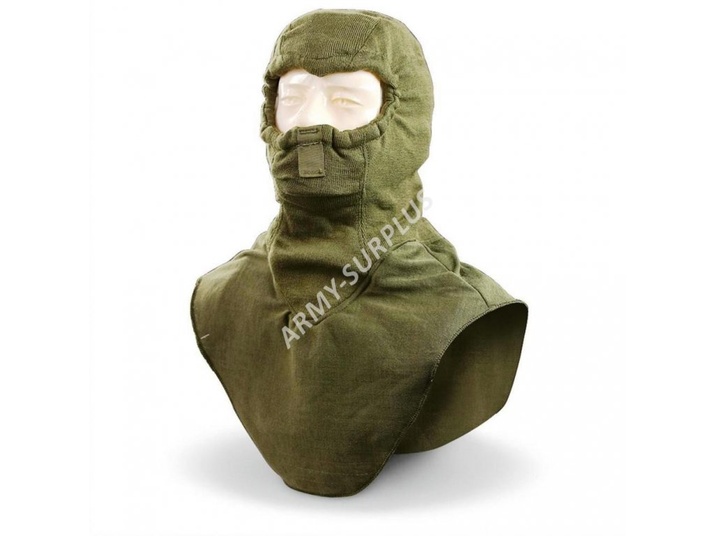 Kukla US nomex oliv (Combat Vehicle Crewmans Hood)