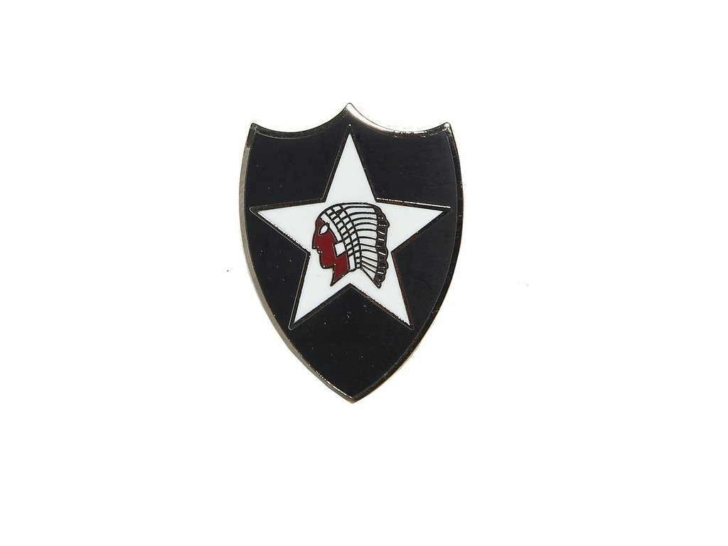 Odznak (pins) 2nd infantry division US
