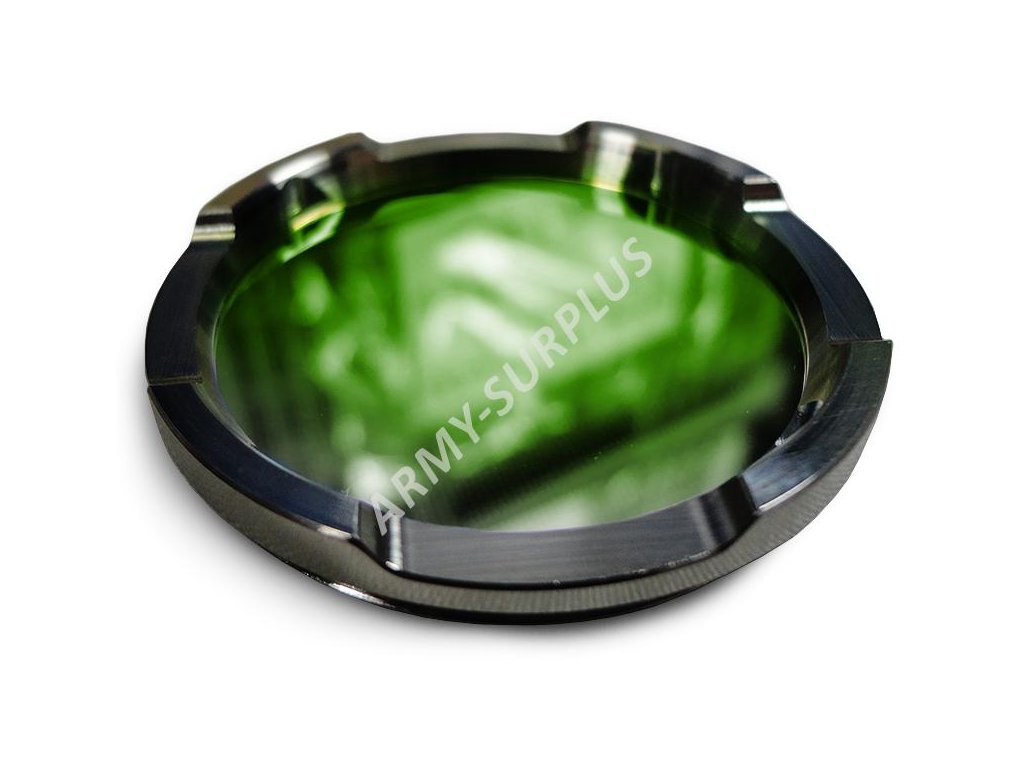 Barevný filtr zelený na svítilny Supbeam T10 (Acebeam)