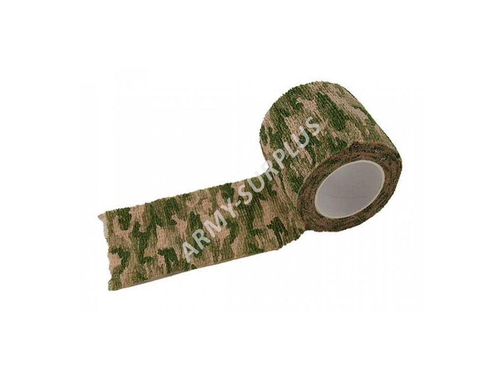 Páska lepící elastická (Camo Wrap) multicamo