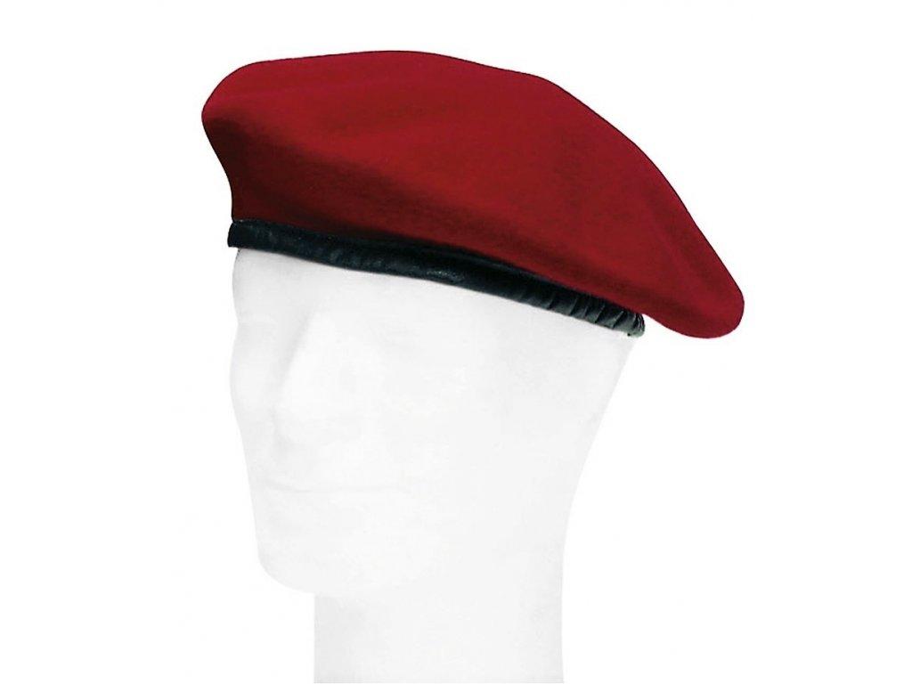Baret BW červený Německo (Bundeswehr) originál