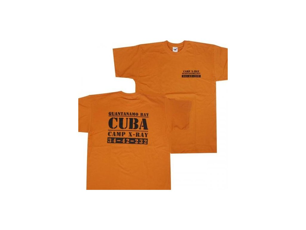 10e2ae8c5d6 Tričko (triko) potisk věznice Guantanamo - ARMY-SURPLUS