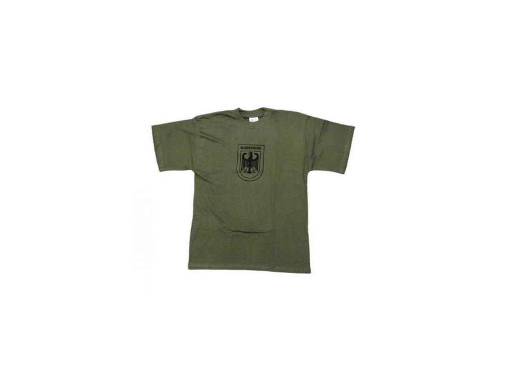 Tričko (triko) oliv potisk orlice Bundeswehr - ARMY-SURPLUS e79f197554