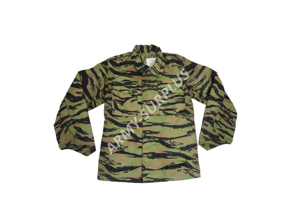 Polní kabát,bunda (parka) M65 ALPHA Tiger