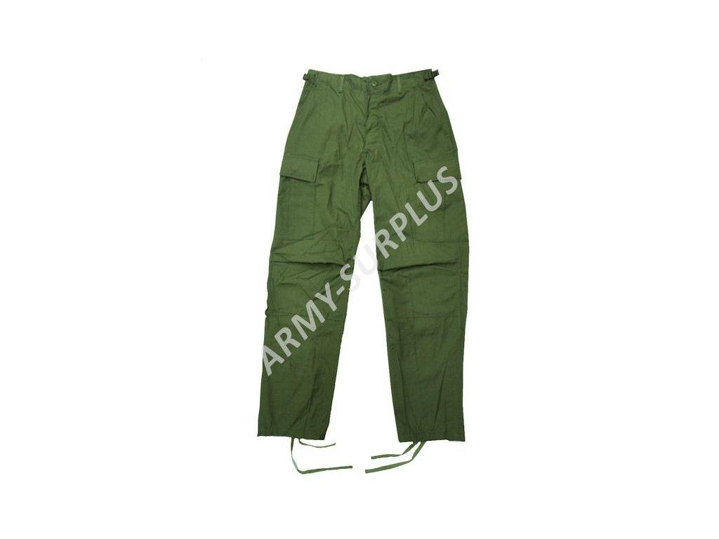 Kalhoty BDU ripstop oliv US original