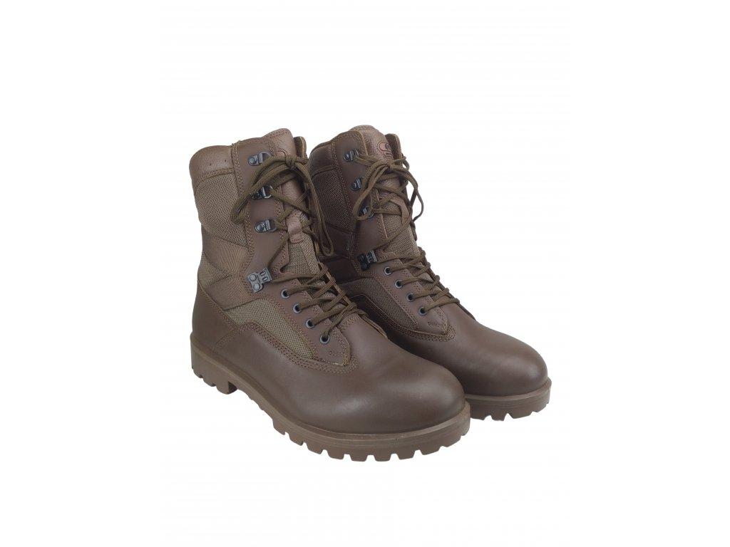 Boty YDS Boots Kestrel hnědé Velká Británie originál