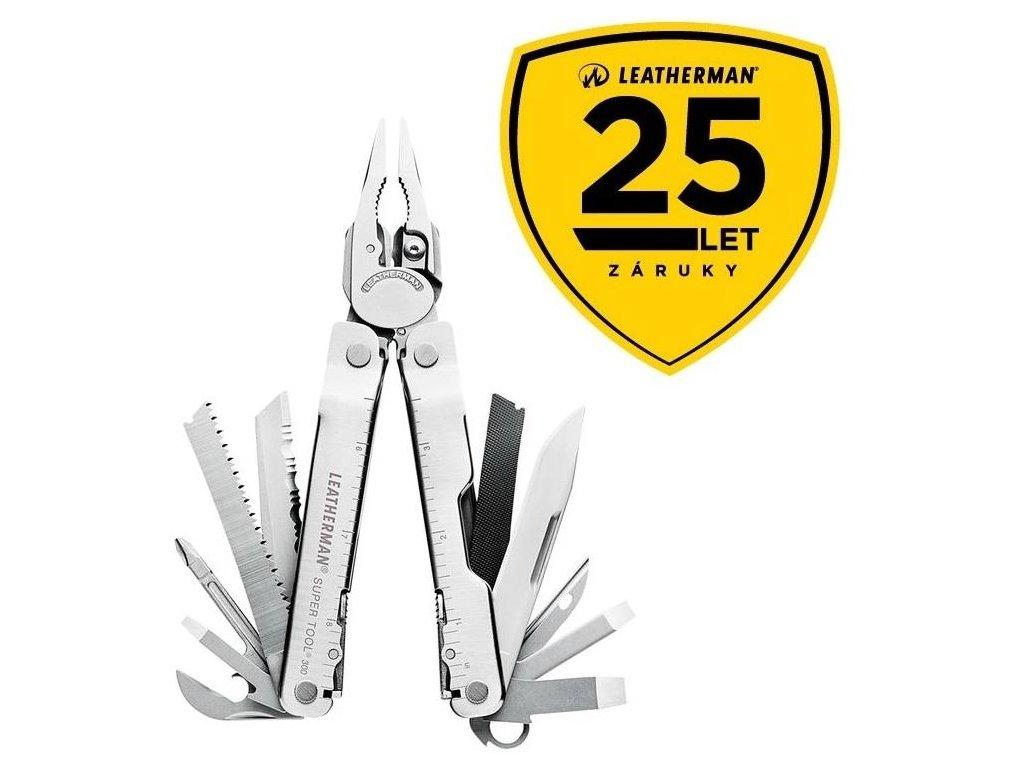 Leatherman Super Tool 300 kleště multifunkční nářadí originál 831183 25 let záruka
