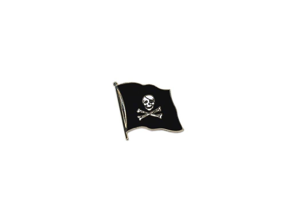 Odznak (pins)  20mm praporek Pirát