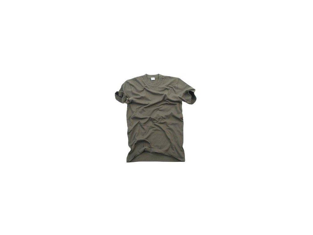 Tričko (triko) BW (Bundeswehr) oliv krátký rukáv originál