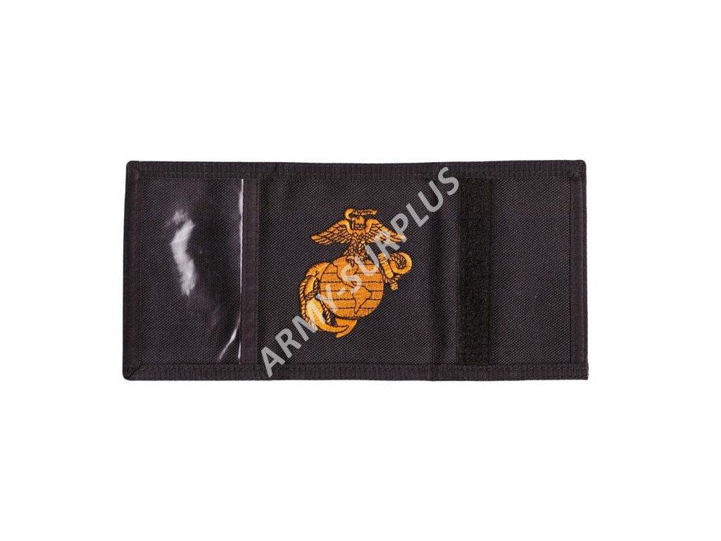 Peněženka USMC černá