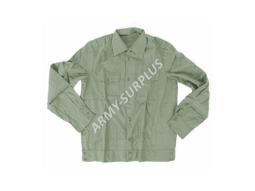 4968f3234b9 Košile Rusko khaki dlouhý rukáv originál - ARMY-SURPLUS