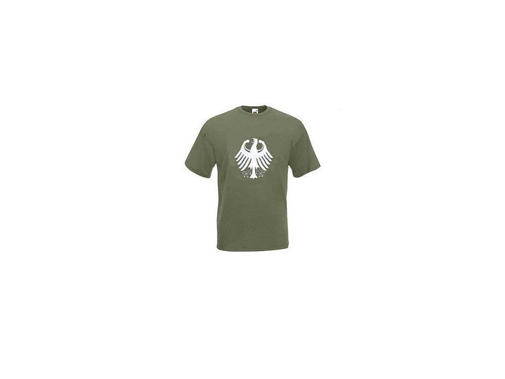 cc47d102896 Tričko (triko) potisk hvězda USA černé - ARMY-SURPLUS