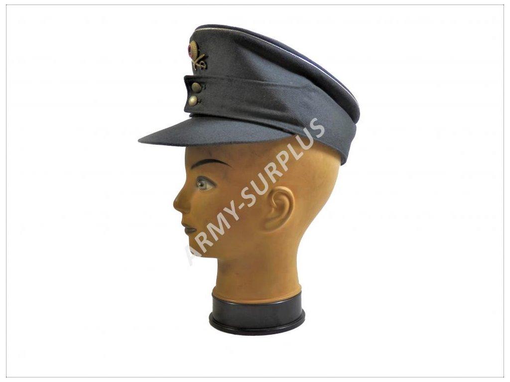 Čepice důstojník BW (Bundeswehr) šedá horský myslivec s odznaky ... ef3b776433