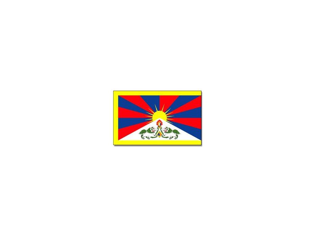 Praporek Tibet č.018