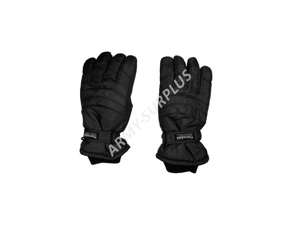 Rukavice zimní Thinsulate černé