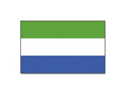 Vlajka 90x150cm Sierra Leone č.175