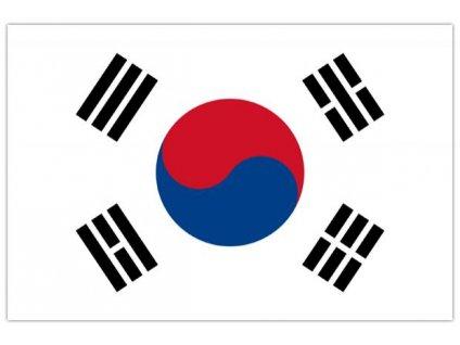 Vlajka Jižní Korea 90x150cm č.97