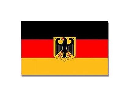 Vlajka Německo s orlem 90x150cm č.22