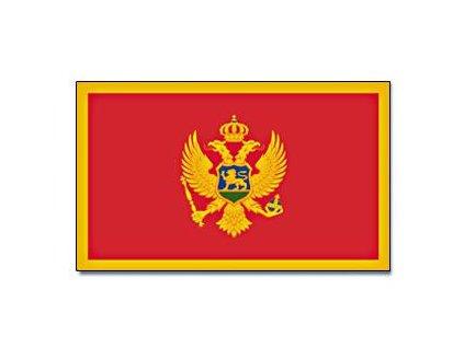 Vlajka Montenegro 90x150cm č.119
