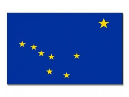 Vlajka  Aljaška 90x150cm č.109