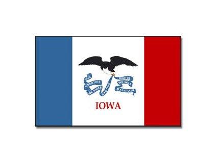 Vlajka 90x150cm Iowa č.213