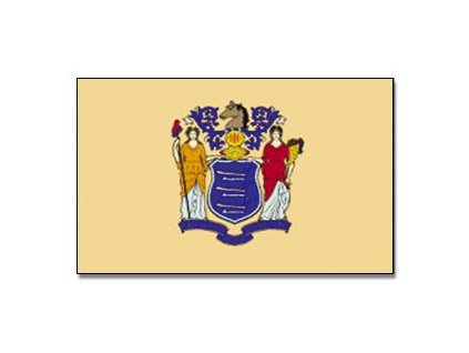 Vlajka New Jersey 90x150cm č.162