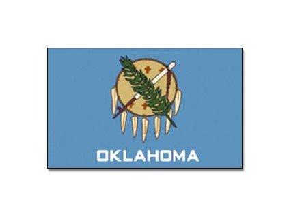 Vlajka Oklahoma 90x150cm č.168