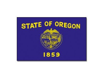 Vlajka Oregon 90x150cm č.169