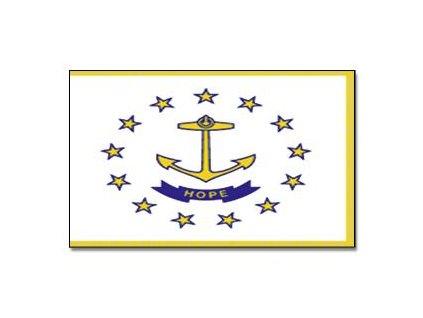 Vlajka 90x150cm Rhode-Island č.212